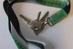 Schlüssel mit Inntex Band